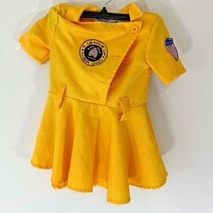 Fun Costumes Toddler Girls sz 2T League of Their O